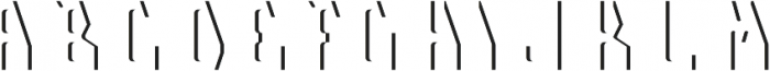 Telford LightFX otf (300) Font LOWERCASE