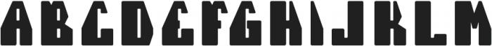 Telford Regular otf (400) Font UPPERCASE