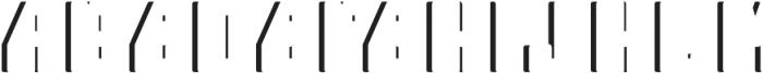 Telford ShadowFX otf (400) Font UPPERCASE