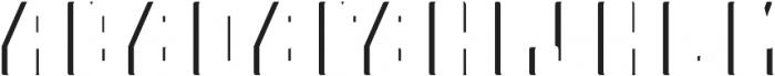 Telford ShadowFX otf (400) Font LOWERCASE