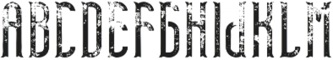 TelfordFont Aged otf (400) Font LOWERCASE