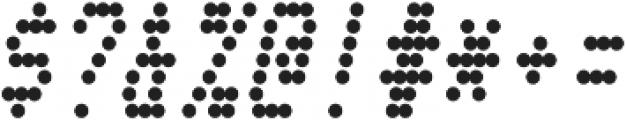 Telidon Condensed Bold Italic otf (700) Font OTHER CHARS