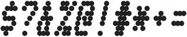 Telidon Condensed Heavy Italic otf (800) Font OTHER CHARS