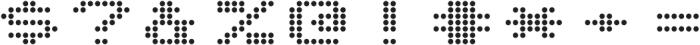 Telidon Expanded Bold otf (700) Font OTHER CHARS