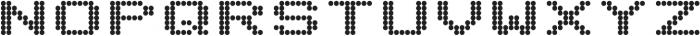 Telidon Expanded Heavy otf (800) Font UPPERCASE