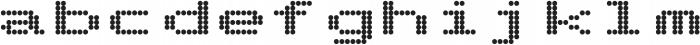 Telidon Expanded Heavy otf (800) Font LOWERCASE