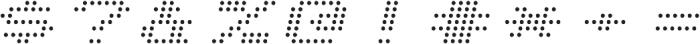 Telidon Expanded Italic otf (400) Font OTHER CHARS