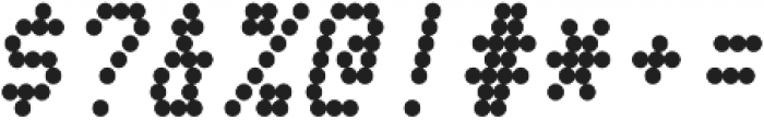 Telidon Heavy Italic otf (800) Font OTHER CHARS