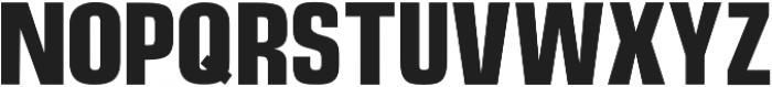 Telisik Sans otf (400) Font UPPERCASE