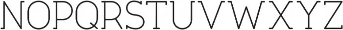 Tempoline otf (100) Font UPPERCASE