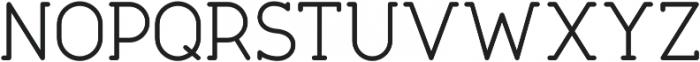 Tempoline otf (300) Font UPPERCASE