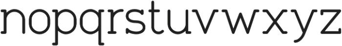 Tempoline otf (300) Font LOWERCASE