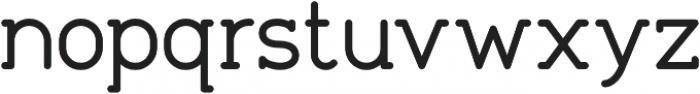 Tempoline otf (400) Font LOWERCASE