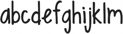 Ten Million Fireflies ttf (400) Font LOWERCASE