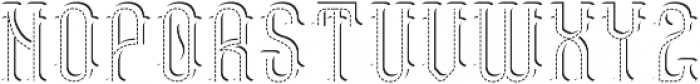 TennesseeHoney TextureShadowFX otf (400) Font LOWERCASE