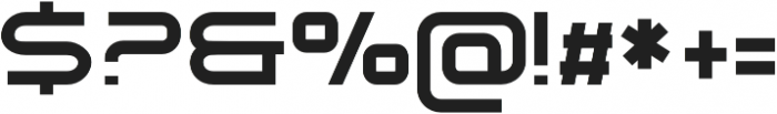 Tennova Regular otf (400) Font OTHER CHARS
