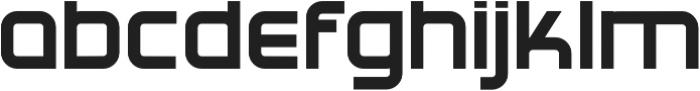 Tennova Regular otf (400) Font LOWERCASE