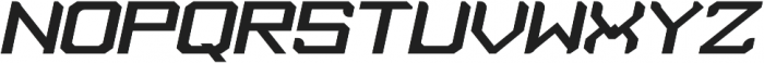 Tenro otf (400) Font UPPERCASE