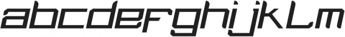 Tenro otf (400) Font LOWERCASE