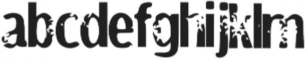 Tenure otf (400) Font LOWERCASE
