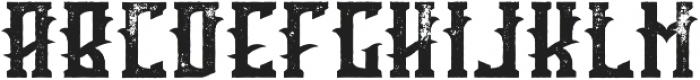 Tequila aged otf (400) Font LOWERCASE