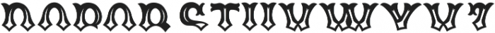 Tequila otf (400) Font LOWERCASE