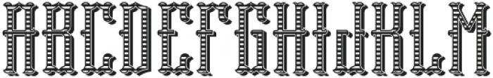 Tequila04  TextureAndShadow otf (400) Font UPPERCASE