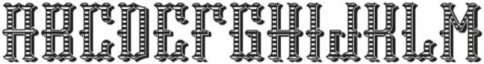 Tequila04  TextureAndShadow otf (400) Font LOWERCASE
