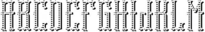 Tequila04  TextureAndShadowFX otf (400) Font UPPERCASE