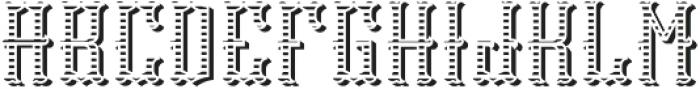 Tequila04  TextureAndShadowFX otf (400) Font LOWERCASE