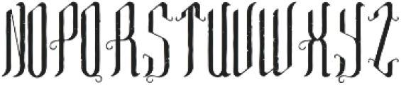 TequilaFont Aged otf (400) Font UPPERCASE