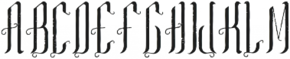 TequilaFont Aged otf (400) Font LOWERCASE