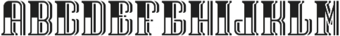 TequilaFont LightShadow otf (300) Font LOWERCASE
