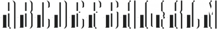 TequilaFont LightShadowFX otf (300) Font UPPERCASE