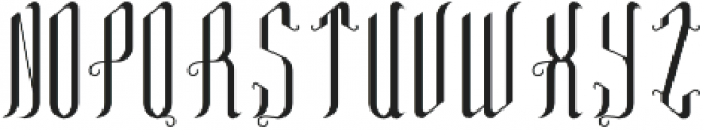 TequilaFont Regular otf (400) Font LOWERCASE