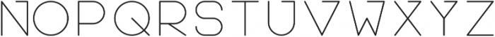 Teratur otf (100) Font UPPERCASE