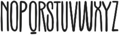 Terek otf (400) Font LOWERCASE