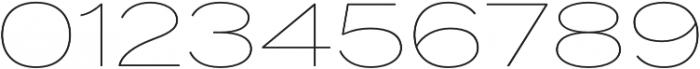 Termina Thin otf (100) Font OTHER CHARS