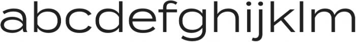 Termina otf (400) Font LOWERCASE