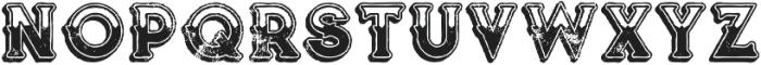 Terminal Line Grunge otf (400) Font UPPERCASE