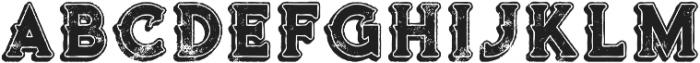 Terminal Line Grunge otf (400) Font LOWERCASE