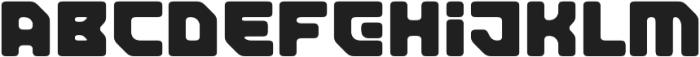 TeslaRound otf (400) Font UPPERCASE