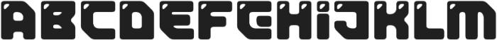 TeslaRound otf (400) Font LOWERCASE