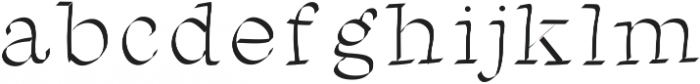 Test2 ttf (400) Font LOWERCASE
