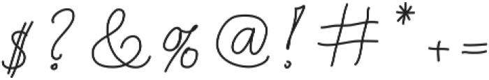 Test5 ttf (400) Font OTHER CHARS