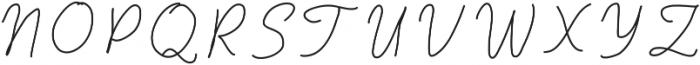 Test5 ttf (400) Font UPPERCASE
