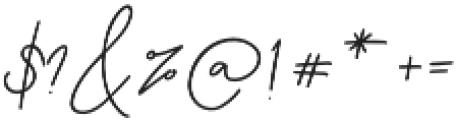 Testudo Signature otf (400) Font OTHER CHARS