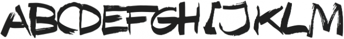 Texas Grunge ttf (400) Font UPPERCASE