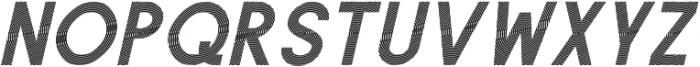 Texas Oblique otf (400) Font UPPERCASE