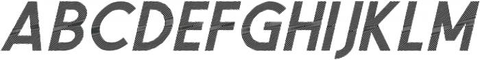 Texas Oblique otf (400) Font LOWERCASE